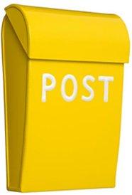 Mini postkasse