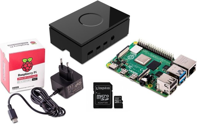 Raspberry Pi 4 Starter Kit 4GB