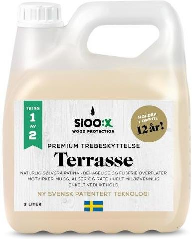 SiOO:X Wood Protection Premium Trebeskyttelse 3l