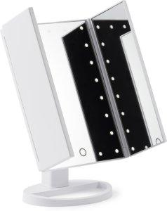 Original Tri Folded Lighted Mirror