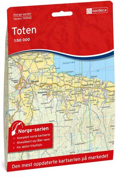 Nordeca Toten 1:50 000