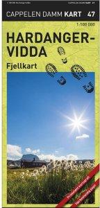 Hardangervidda Fjellkart