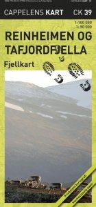 Reinheimen og Tafjordfjella Fjellkart