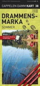 Drammensmarka Sommer Turkart