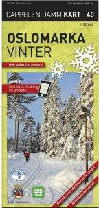 Oslomarka Vinter Turkart