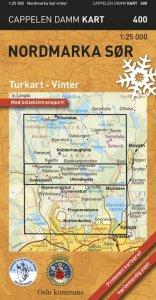 Nordmarka sør, vinter Turkart