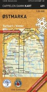 Østmarka vinter Turkart