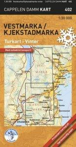 Vestmarka/Kjekstadmarka vinter Turkart