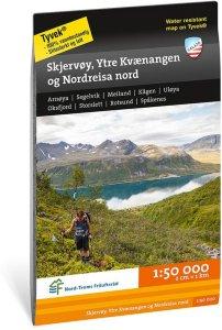 Skjervøy, Ytre Kvænangen og Nordreisa Nord 1:50 000