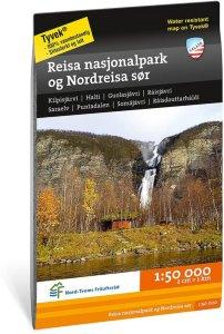 Reisa nasjonalpark og Nordreisa sør 1:50 000