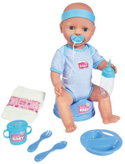 Baby Born Interactive New Born (gutt)