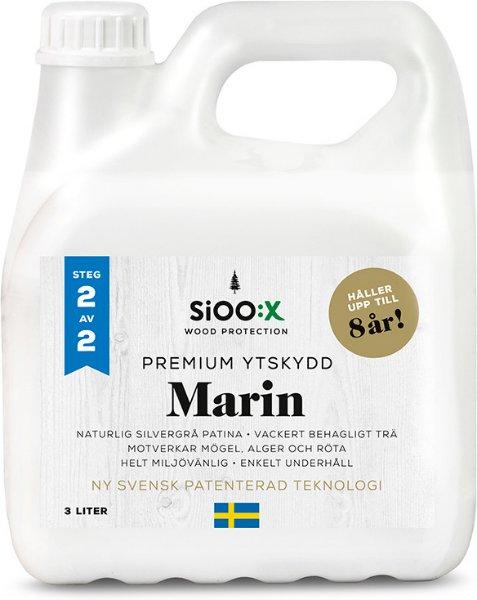 SiOO:X Premium Marin Overflatebeskyttelse 3l