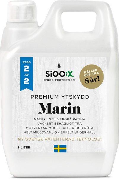 SiOO:X Premium Marin Overflatebeskyttelse 1l