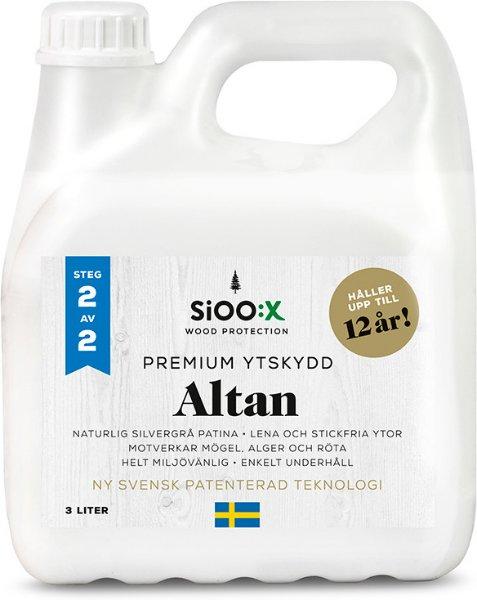 SiOO:X Premium Altan Overflatebeskyttelse 3l