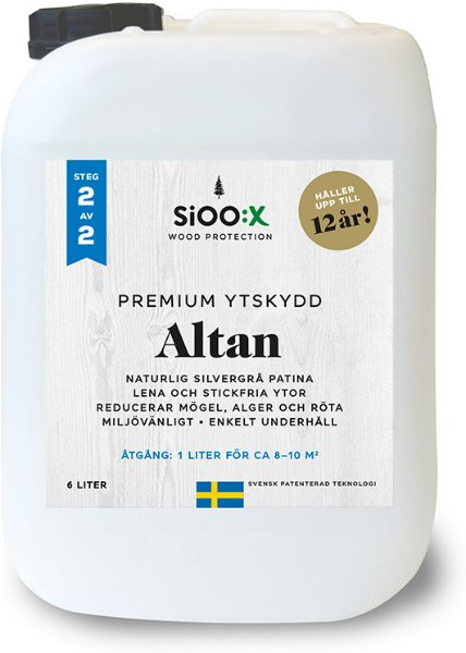 SiOO:X Premium Altan Overflatebeskyttelse 6l