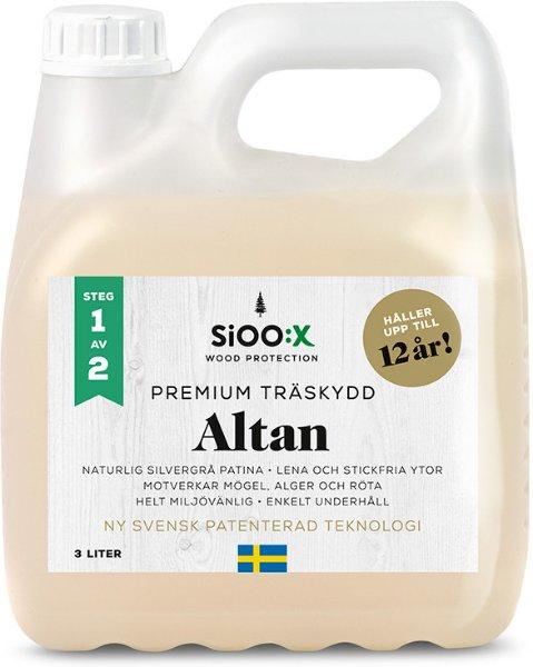 SiOO:X Premium Altan Trebeskyttelse 3l