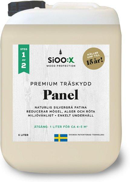 SiOO:X Premium Panel Trebeskyttelse 6l