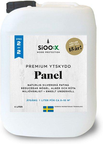 SiOO:X Premium Panel Overflatebeskyttelse 6l