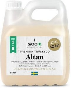 SiOO:X Premium Altan Trebeskyttelse 6l