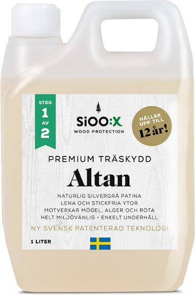 SiOO:X Premium Altan Trebeskyttelse 1l