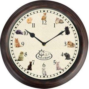 Klokke med kattelyder