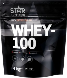 Star Nutrition Whey-100 4kg