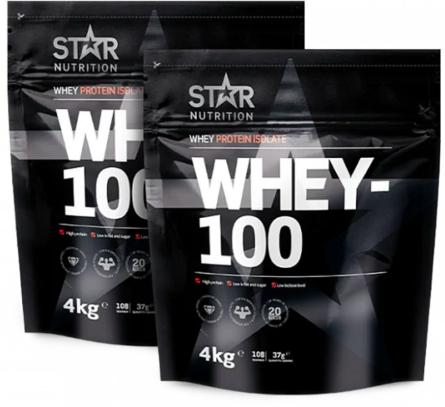 Star Nutrition Whey-100 2x4kg
