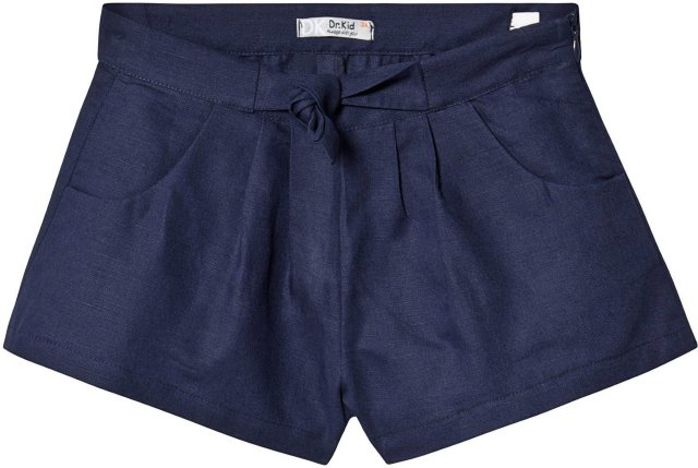 Dr Kid Bow Waist Linen Shorts