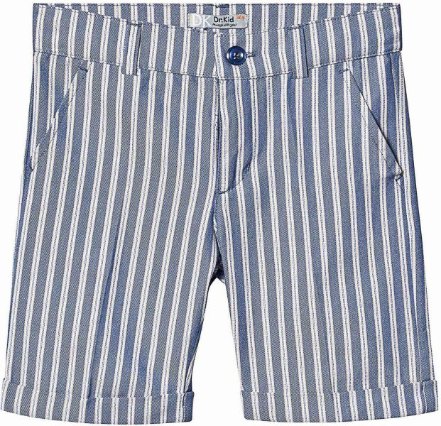 Dr Kid Blue Cotton Shorts