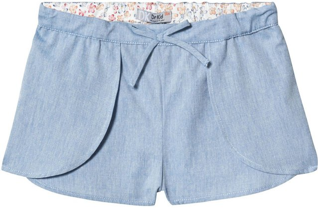 Dr Kid Chambray Layered Shorts