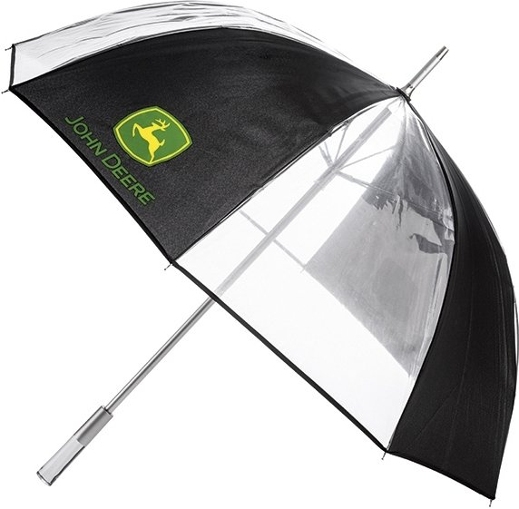 John Deere Gjennomsiktig Paraply