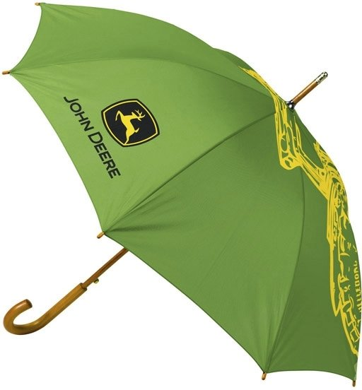 John Deere Paraply m/trehåndtak