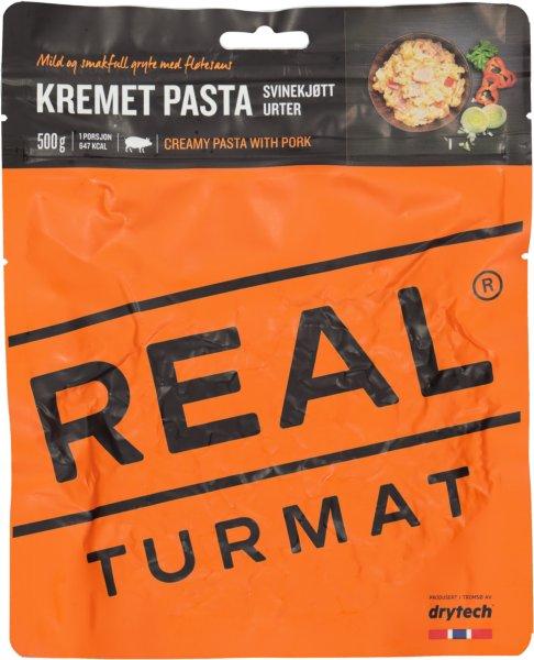 Real Turmat Kremet Pasta med Svinekjøtt og Urter
