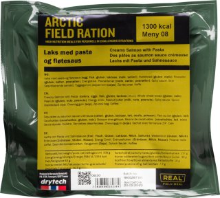Arctic Field Ration laks med pasta og fløtesaus