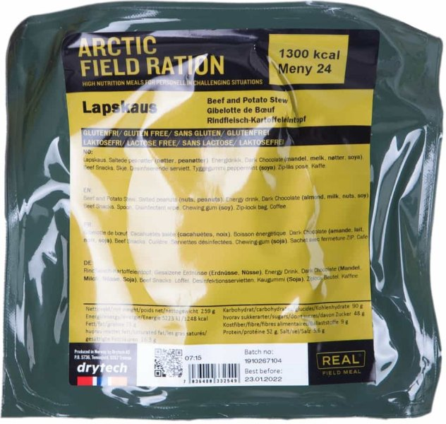 Real Turmat Arctic Field Ration Lapskaus