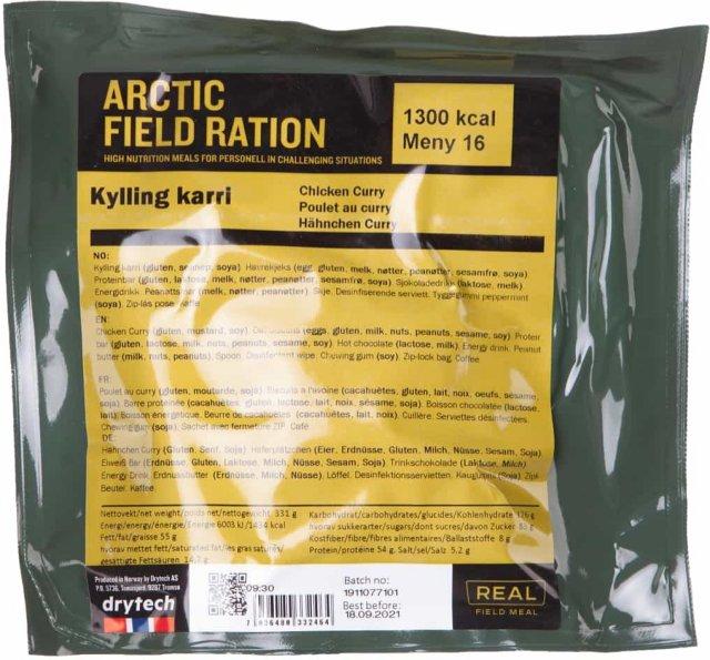 Real Turmat Arctic Field Ration Tikka Masala