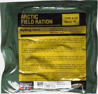 Real Turmat Arctic Field Ration Kylling Karri
