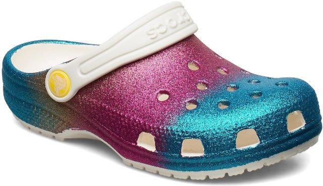 Crocs Classic Glitter Clogs (barn/junior)