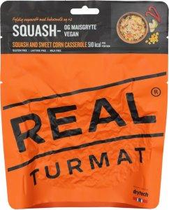 Squash og maisgryte
