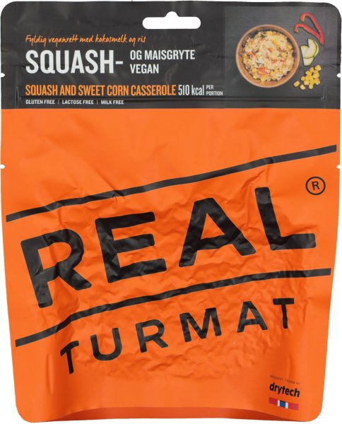 Real Turmat Squash og maisgryte