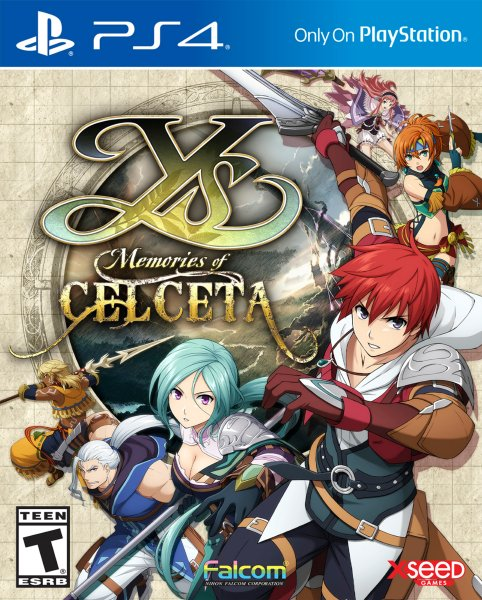 Ys: Memories Of Celceta til Playstation 4