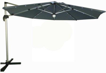Easy Living Capri parasoll med LED-belysning 3,5m