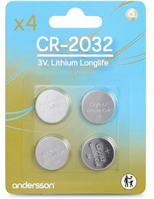 Andersson CR2032 Long Life 4 pk