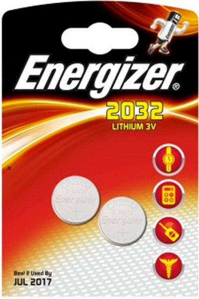 Energizer Lithium CR2032 2 pk