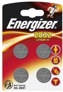 Energizer Lithium CR2032 4 pk