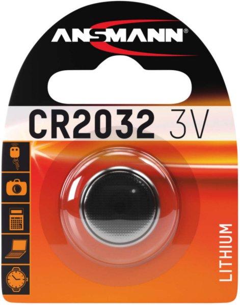 Ansmann CR2032 Lithium 3V 1 pk