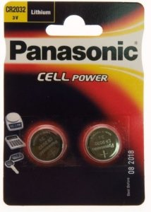 Panasonic CR2032 2 pk