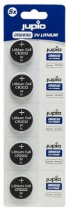 Jupio CR2032 3V Lithium 5 pk
