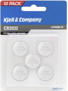 Kjell & Company CR2032 pk