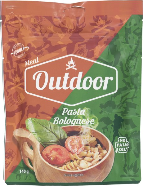 Outdoor Meal Pasta Bolognese